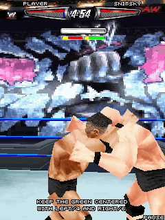 Mobile game WWE SmackDown vs. RAW 2008 - screenshots. Gameplay WWE SmackDown vs. RAW 2008.