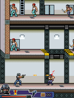 Mobile game SWAT Absolute force - screenshots. Gameplay SWAT Absolute force.