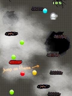 Download free game for mobile phone: Doodle Jump Halloween - download mobile games for free.