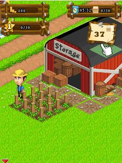 Download free game for mobile phone: Happy Farmer - download mobile games for free.