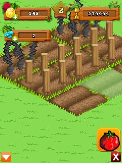 Jeu mobile Le Fermier Joyeux: le Jet - captures d'écran. Gameplay Happy Farmer Cast Away.