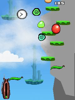 Download free game for mobile phone: Bounce To Sky - download mobile games for free.