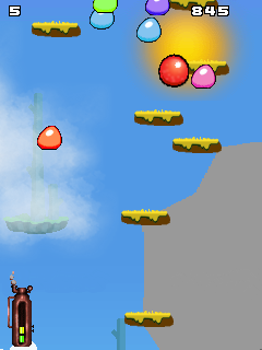 Mobile game Bounce To Sky - screenshots. Gameplay Bounce To Sky.