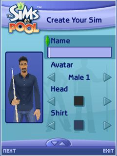 Download free mobile game: The Sims: Pool - download free games for mobile phone.