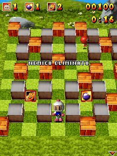 Download free mobile game: Bomberman Atomic 3D - download free games for mobile phone.