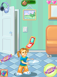 Download free game for mobile phone: Daddy's Daughters - download mobile games for free.