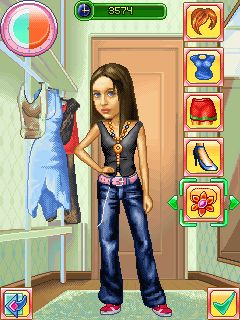 Download free mobile game: Daddy's Daughters - download free games for mobile phone.