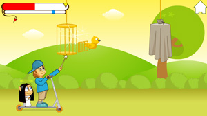 Download free game for mobile phone: Good Bad & Birdie - download mobile games for free.