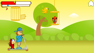 Download free mobile game: Good Bad & Birdie - download free games for mobile phone.