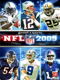 Jeu mobile Le Football Américain 2009 - captures d'écran. Gameplay NFL 2009.