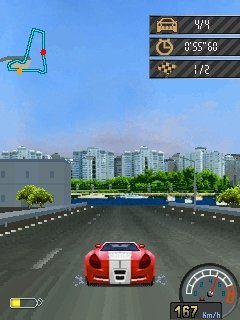Mobile game Racing: Ghost Track - screenshots. Gameplay Racing: Ghost Track.