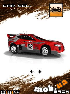 Download free game for mobile phone: 100% Rally 3D - download mobile games for free.