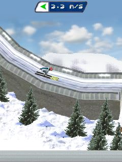 Download free mobile game: Real Ski Jumping 2011 - download free games for mobile phone.