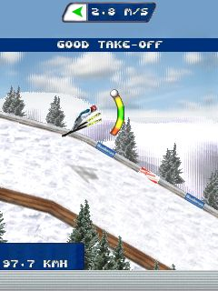 Download free game for mobile phone: Real Ski Jumping 2011 - download mobile games for free.