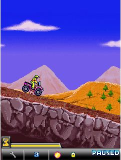 Download free mobile game: X-Mountain ATV - download free games for mobile phone.