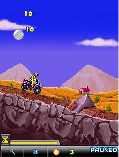 Download free game for mobile phone: X-Mountain ATV - download mobile games for free.