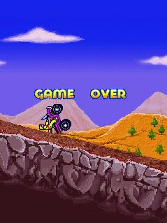Mobile game X-Mountain ATV - screenshots. Gameplay X-Mountain ATV.