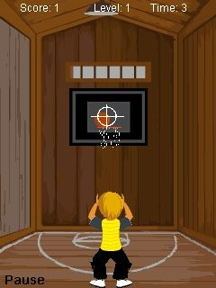 Download free game for mobile phone: TT BasketBall Shots - download mobile games for free.