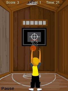 Mobile game TT BasketBall Shots - screenshots. Gameplay TT BasketBall Shots.