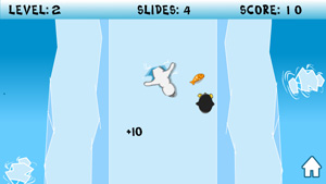Download free game for mobile phone: Skliding Penguin - download mobile games for free.