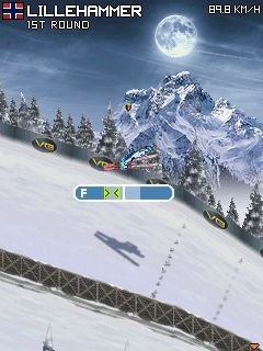 Download free game for mobile phone: SKI Jumping Pro 2012 - download mobile games for free.
