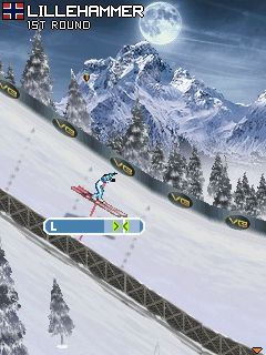 Mobile game SKI Jumping Pro 2012 - screenshots. Gameplay SKI Jumping Pro 2012.