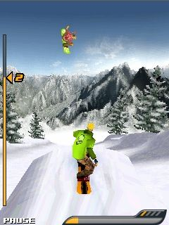 Download free game for mobile phone: Snowboard Hero - download mobile games for free.