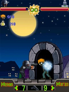 Mobile game Angry Policeman - screenshots. Gameplay Angry Policeman.