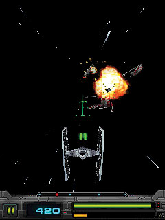 Download free mobile game: Star Wars: Imperial Ace 3D - download free games for mobile phone.