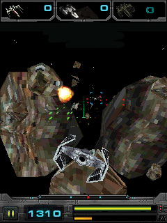 Mobile game Star Wars: Imperial Ace 3D - screenshots. Gameplay Star Wars: Imperial Ace 3D.