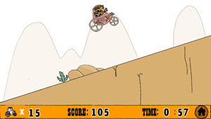 Download free game for mobile phone: Down The Hill - download mobile games for free.
