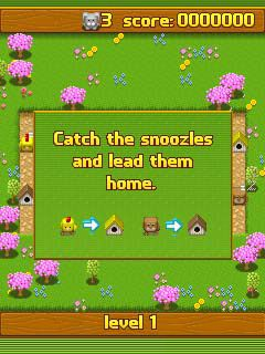 Download free mobile game: Snoozles - download free games for mobile phone.