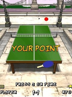Download free game for mobile phone: Smash Ping Pong - download mobile games for free.