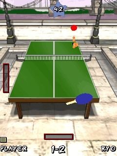Mobile game Smash Ping Pong - screenshots. Gameplay Smash Ping Pong.