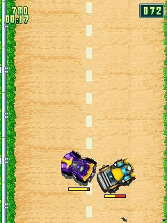 Download free game for mobile phone: Car Crash Racing 2 - download mobile games for free.