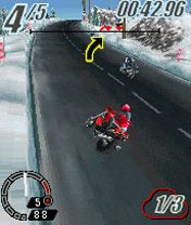Mobile game Ducati 3D Extreme - screenshots. Gameplay Ducati 3D Extreme.