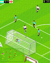 Download free mobile game: Actua Soccer Internation Edition 2006 - download free games for mobile phone.
