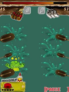 Download free game for mobile phone: Whack a croc - download mobile games for free.