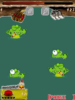 Mobile game Whack a croc - screenshots. Gameplay Whack a croc.