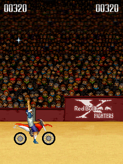Скриншот java игры Red Bull X-Fighters 2007. Игровой процесс.