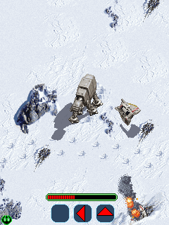 Download free mobile game: Star Wars Empire Strikes Back - download free games for mobile phone.