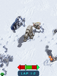 Mobile game Star Wars Empire Strikes Back - screenshots. Gameplay Star Wars Empire Strikes Back.