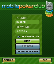 Download free mobile game: Mobile Poker Club Online - download free games for mobile phone.