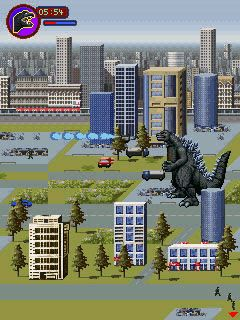 Jeu mobile Godzilla: le Chaos de Monstre - captures d'écran. Gameplay Godzilla: Monster Mayhem.