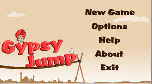Download free mobile game: Gypsy Jump - download free games for mobile phone.