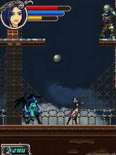 Скриншот java игры Darkness Warrior Princes 2. Игровой процесс.