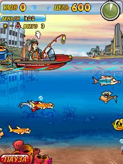 Download free game for mobile phone: Fishing Frenzy 2011 - download mobile games for free.