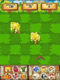 Mobile game Garden Battle Hall - screenshots. Gameplay Garden Battle Hall.