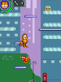 Download free game for mobile phone: Garfield's Day Out - download mobile games for free.