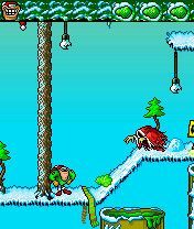 Download free game for mobile phone: ExcreMan: Christmas - download mobile games for free.